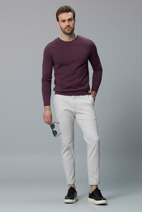 Lufian Onreco Smart Chino Pantolon Slim Fit Taş
