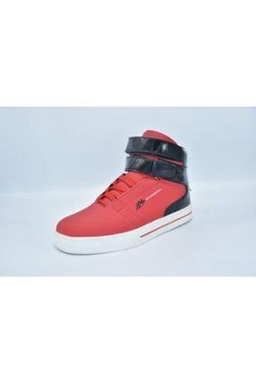 MP Unisex  Siyah Kırmızı Boğazlı Basketbol Ayakkabısı 152-2050