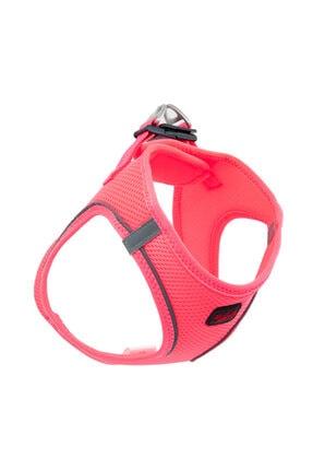 Tailpetz Airmesh Neon-pembe Göğüs Tasması Medıum