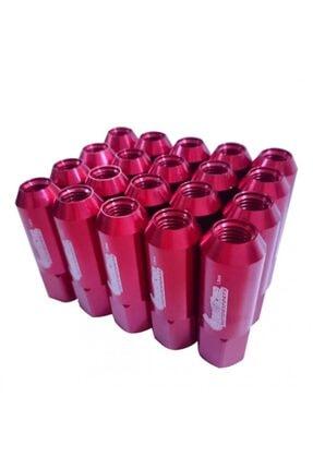 BoostZone Renkli Uzun Bijon Takımı Kırmızı