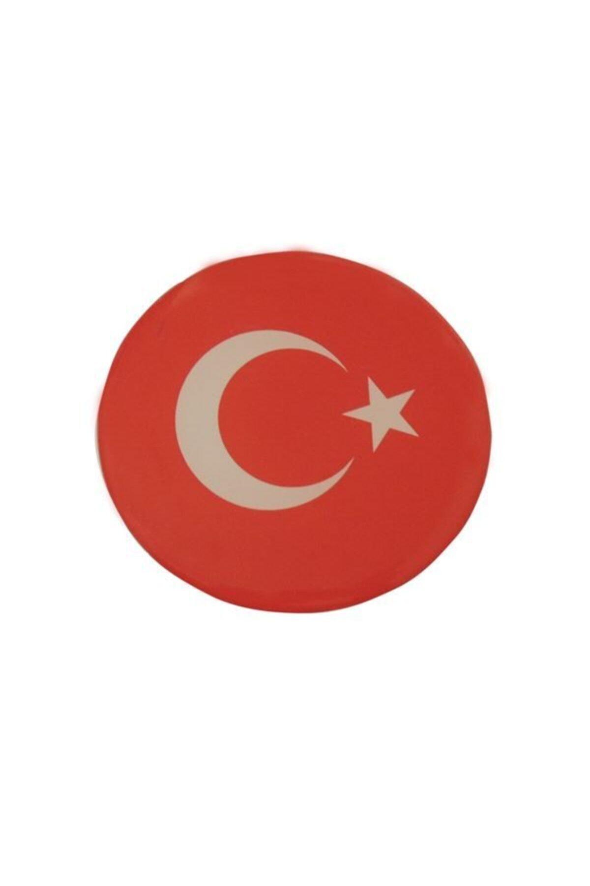 Automix Türk Bayrağı Sticker Damla Çıkartma-etiket 3d 1 Ad 1
