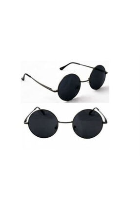 Pi İthalat Unisex Siyah Lennon Gözlük