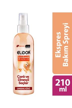 Elidor Express Saç Bakım Spreyi - Canlı Ve Dirençli Saçlar 210 Ml