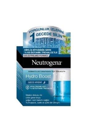 Neutrogena Hydro Boost Hiyalüronik Asit  Botanik Trehaloz Gece Kremi