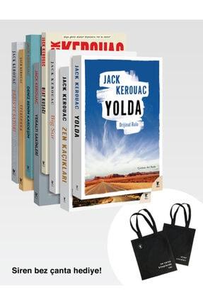 Siren Yayınları Jack Kerouac Set+ Siren Bez Çanta Hediye