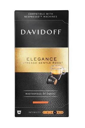 Davidoff Elegance Espresso Gentle Roast Kapsül Kahve 10'lu ( Nespresso Uyumlu)