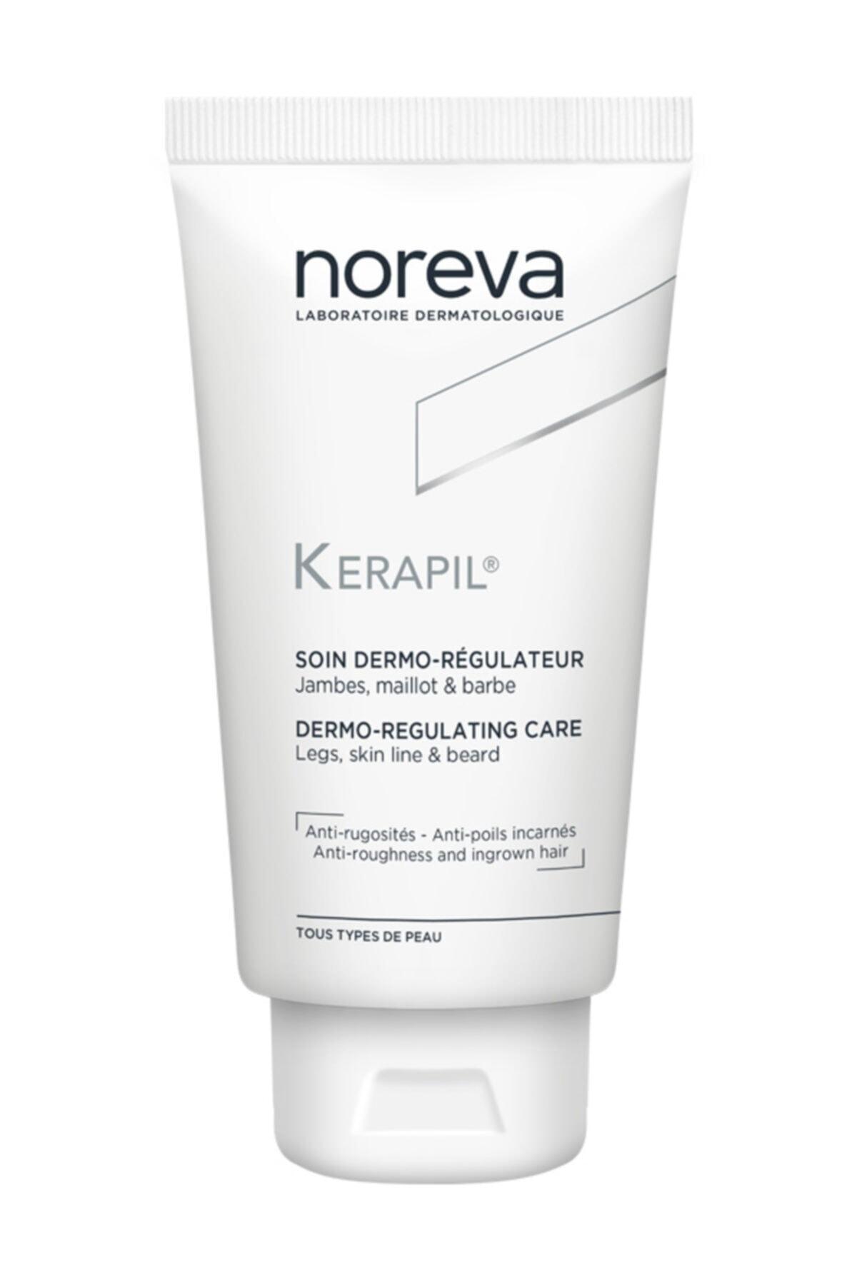 Noreva Batık Bakım Kremi Bacak /bikini / Sakal - Kerapil Dermo-regulating Care 75 Ml 1