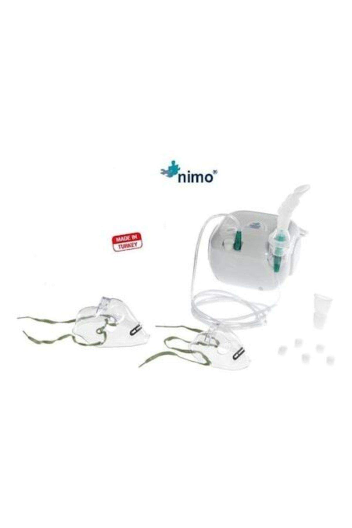 Nimo Mini Kompresörlü Kompak Nebulizatör Cihazı 2