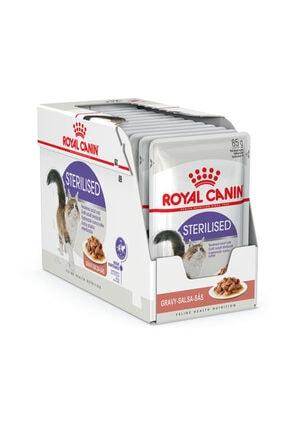 Royal Canin Gravy Sterilised Kısırlaştırılmış Kedi Maması 12x85 Gr