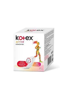 Kotex Active Günlük Ince Ped 32'li