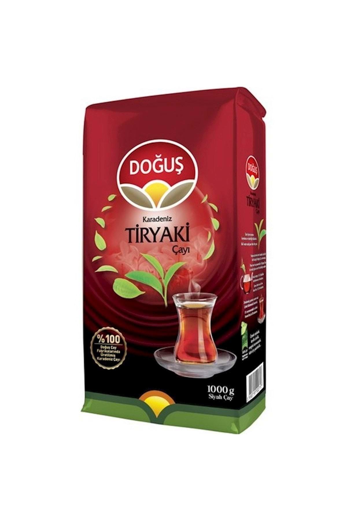 Doğuş Karadeniz Tiryaki Dökme Siyah Çay 1000 gr 2