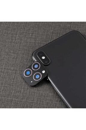 dijimedia Apple Iphone Xs 5.8 Zore Cp-01 Iphone 11 Pro Max Kamera Lens Dönüştürücü