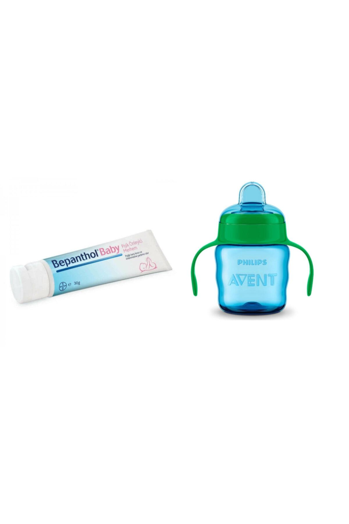 Bepanthol ® Baby Pişik Önleyici Merhem 30gr + Philips Avent Avent Eğitici Bardak 200 Ml 6m+ Erkek 1