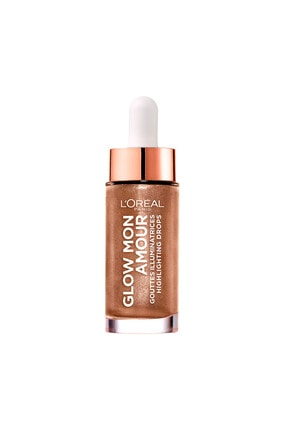 L'Oreal Paris Likit Aydınlatıcı - Glow Mon Amour Droplet Highlight 03 Bronze In Love 3600523706747
