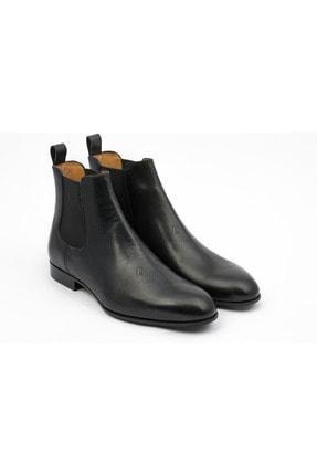 Valentino Garavani Erkek Siyah Deri Bot