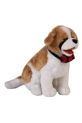 Hızır Oyuncak Oturan Köpek Saint Bernard Peluş 60 cm 11600