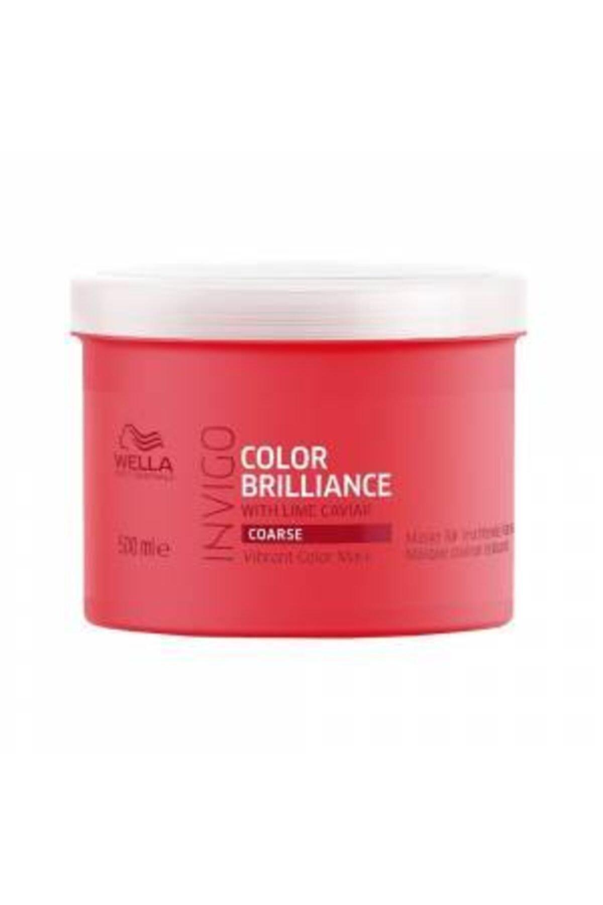 Wella Invigo Color Brilliance Mask 500 Ml Pompa Hediyeli Fırsat Ürünü 1