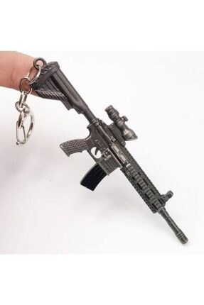 OnlyTrend Pubg Fortnite Metal M416a Anahtarlık