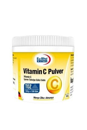 Eurho Vital Vitamin C Pulver Toz 150 Gr