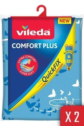 Vileda Quickfıx Sistem Comfort Plus Ütü Masası Kılıfı 2'li