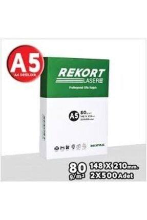 Mopak Rekort A5 80gr Fotokopi Kağıdı 1000x5=5000adet (1 Koli)