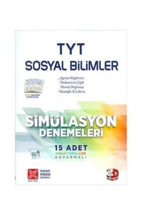 Çözüm Yayınları Tyt Sosyal Bilimler Simülasyon Denemeleri 15 Adet