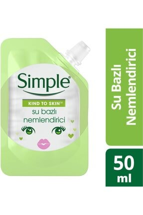Simple Kınd To Skın Su Bazlı Nemlendirici Krem 50 Ml