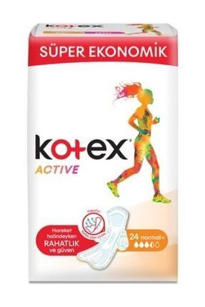Kotex Active Quadro Normal 24'lü Ped