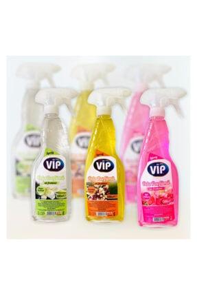 DR VIP Oda Ve Çamaşır Parfümü 3'lü Paket Portakal Çiçeği Beyaz Zambak Ve Gül Bahçesi 500 Ml X 3