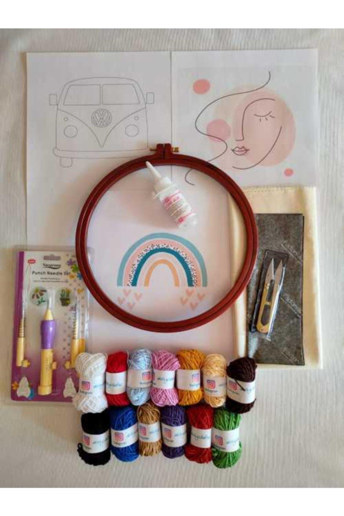 Dafne Dükkan Dafne Pastel Renkler Punch Başlangıç Seti 2