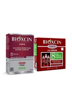 Bioxcin Forte Şampuan 300 Ml - 3 Adet Serum Hediyeli