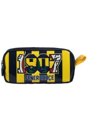 Mikro Frocx Fenerbahçe Çift Gözlü Kalem Çantası Salto Strıpes Otto-3639 Lisanslı