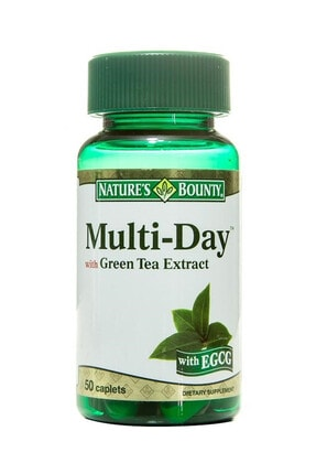 Nature's Bounty Multi-day With Geen Tea Extract 50 Tablet