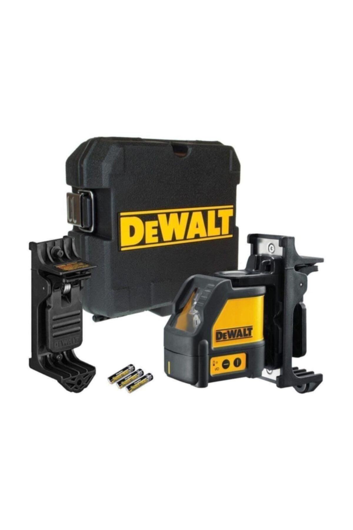 Dewalt Dw088k Profesyonel Yatay Ve Dikey Otomatik Hizalamalı Çizgi Lazer Distomatı 1