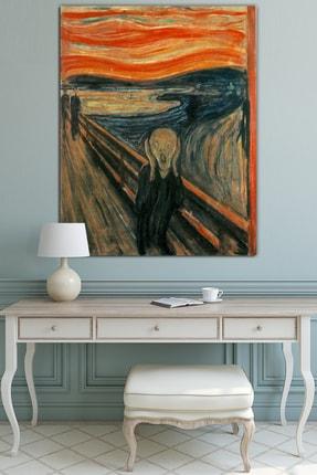 Nazenin Design Edvard Munch The Scream Çığlık Başyapıtlar Kanvas Tablo (50x70cm)
