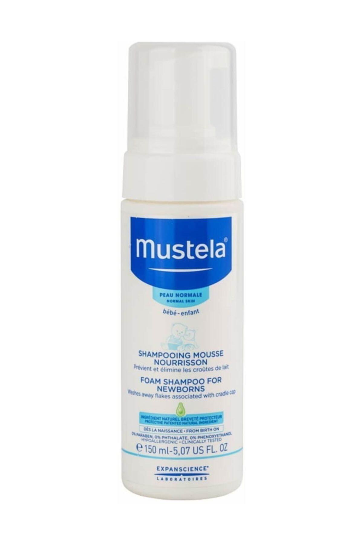 Mustela Yeni Doğan Konak Önleyici Köpük Şampuan 150 Ml 1