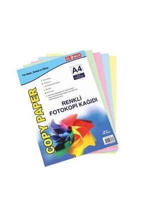 Globox Renkli 100'lü A4 Kağıdı