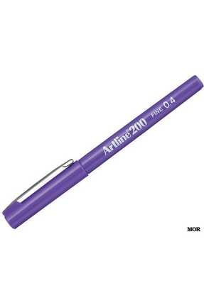 artline 200 Fineliner 0.4mm Ince Uçlu Yazı Ve Çizim Kalemi Mor