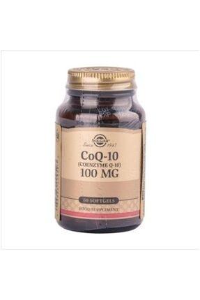 Solgar Coenzyme Q-10 (coq-10) 100 Mg 60 Softjel Skt:11/2023