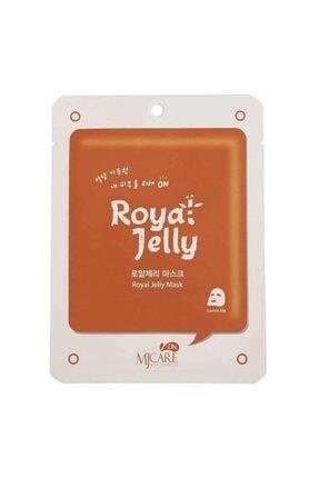 Mjcare Mj Care On Royal Jelly Mask -arı Sütü Içeren Maske 8809220800177