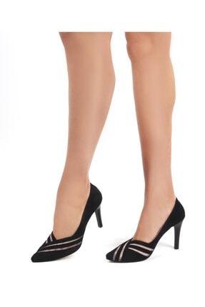 Gökhan Talay Siyah Kadın Klasik Topuklu Ayakkabı 18160102