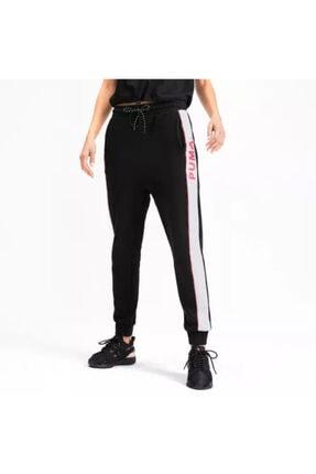 Puma Kadın Siyah Lastikli Paça Spor Eşofman Altı 595226-51