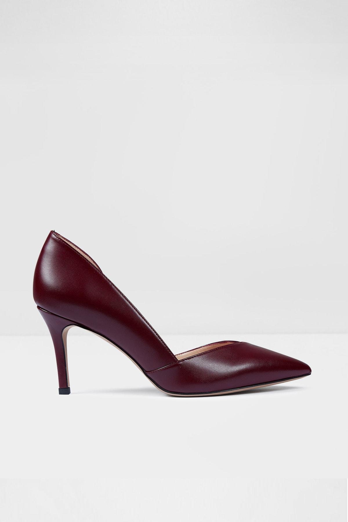Aldo Kadın Bordo Topuklu Ayakkabı Unıty-tr 1