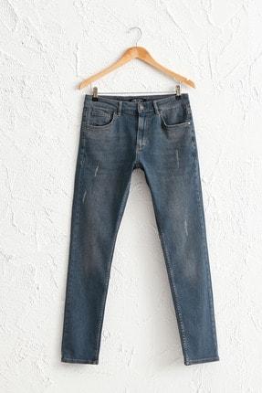 LC Waikiki Erkek Gri Rodeo Slım Fit Jeans 0W0984Z8