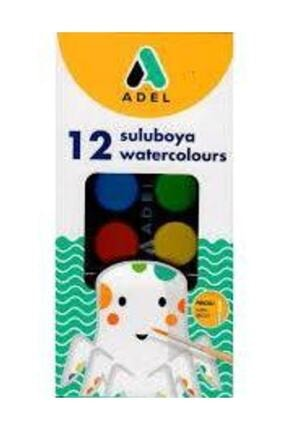 Adel Sulu Boya 12 Renk 30 mm