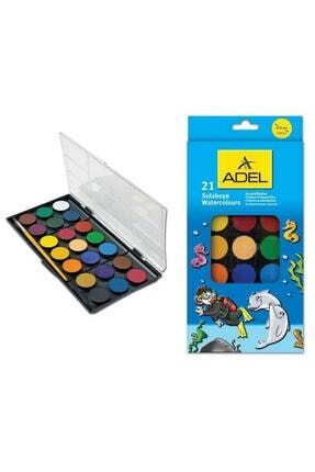 Adel Sulu Boya 21 Renk 30 mm