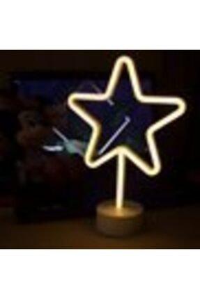Doğuş Dogusdeco Yıldız Neon Led Işıklı Masa-gece Lambası Dekoratif Neon Led Lamba