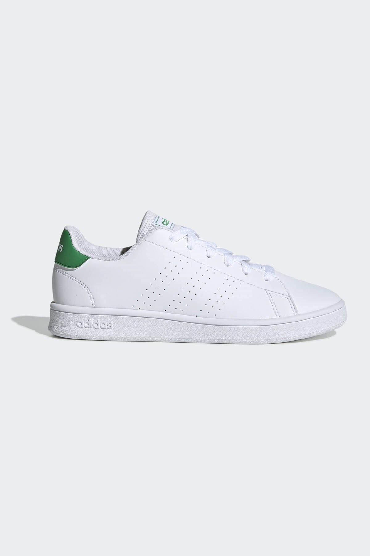 adidas Kadın Yeşil Beyaz Ef0213 Advantage K Spor Ayakkabı 1