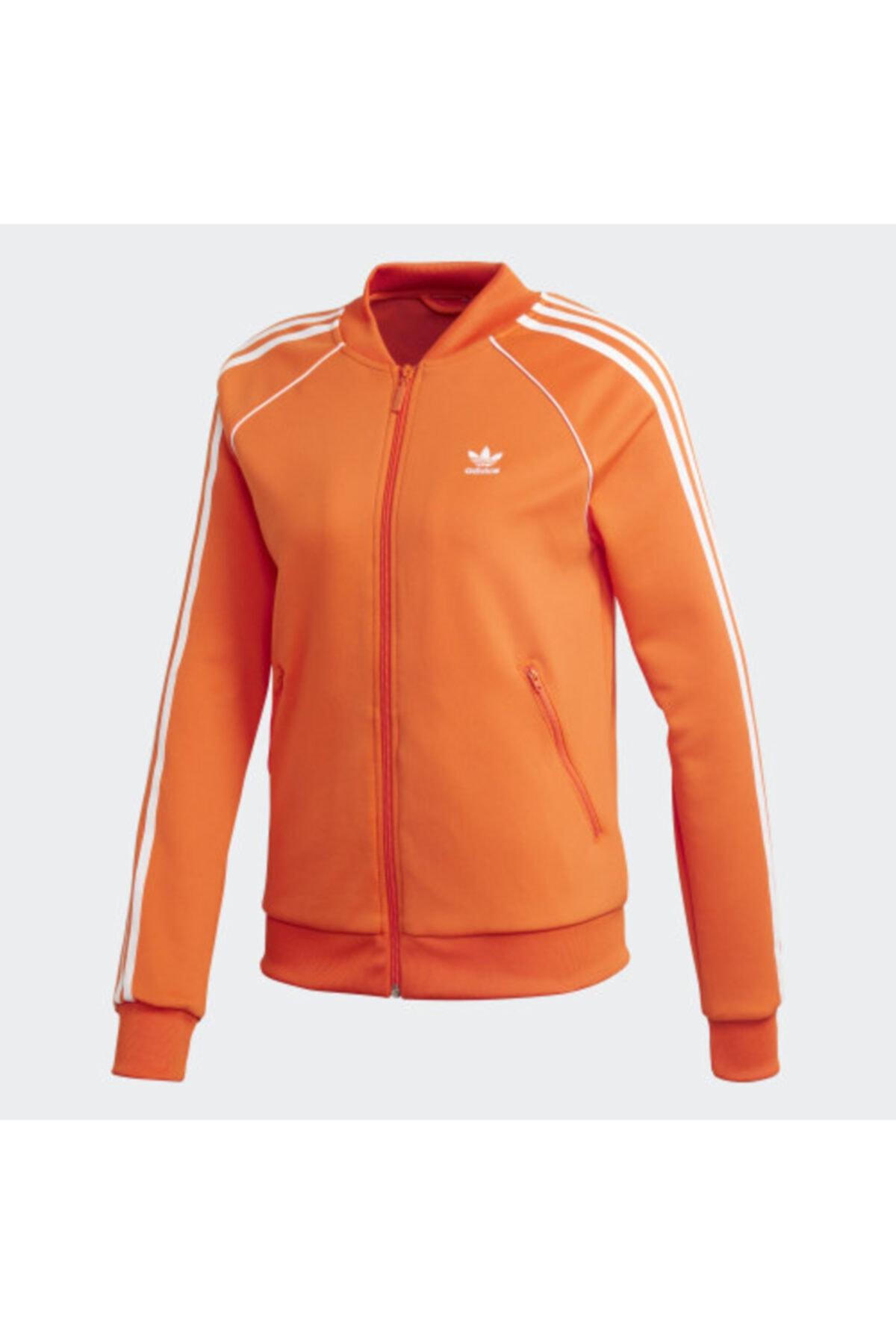 Adidas Originals Kadın Turuncu Sweatshırt Dh3164 1