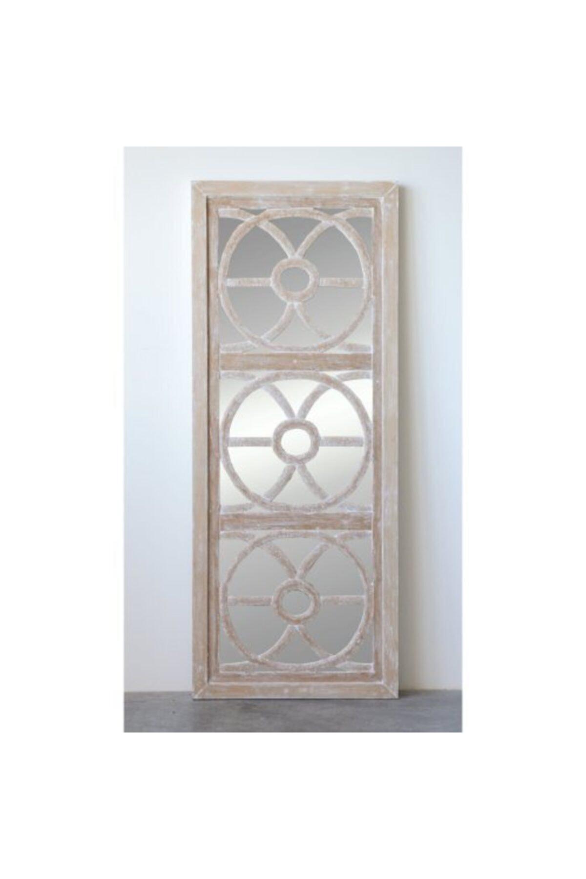 Warm Design Ahşap Duvar Aynası 2